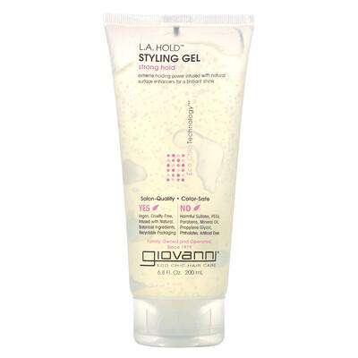 Купить Giovanni L.A. Natural, гель для укладки волос, сильная фиксация, 200 мл (6, 8 жидкой унции)