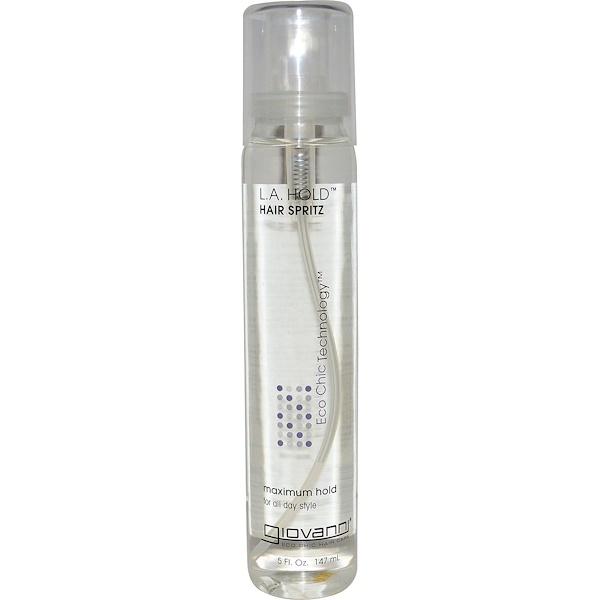 Giovanni, L.A. Hold Hair Spritz, Maximum Hold, 5 fl oz (147 ml) (Discontinued Item)