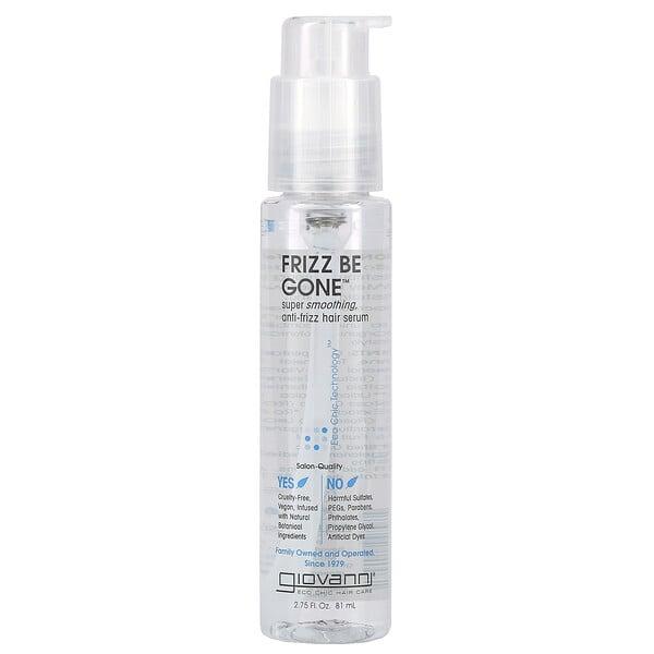 Frizz Be Gone, Super Smoothing, Anti-Frizz Hair Serum, 2.75 fl oz (81 ml)