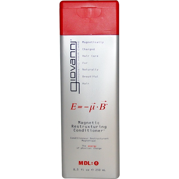 Giovanni, Magnetic Restruxturing Conditioner, 8.5 fl oz (250 ml)