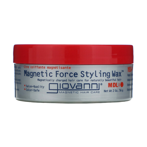Giovanni, Magnetic Force Styling Wax, MDL:2, 2 oz (56 g)