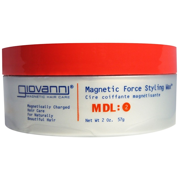 Giovanni, Magnetic Force Styling Wax, MDL: 2, 2 oz (57 g)