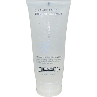 Giovanni, Straight Fast, Straightening Elixir, 6.8 oz (200 ml)