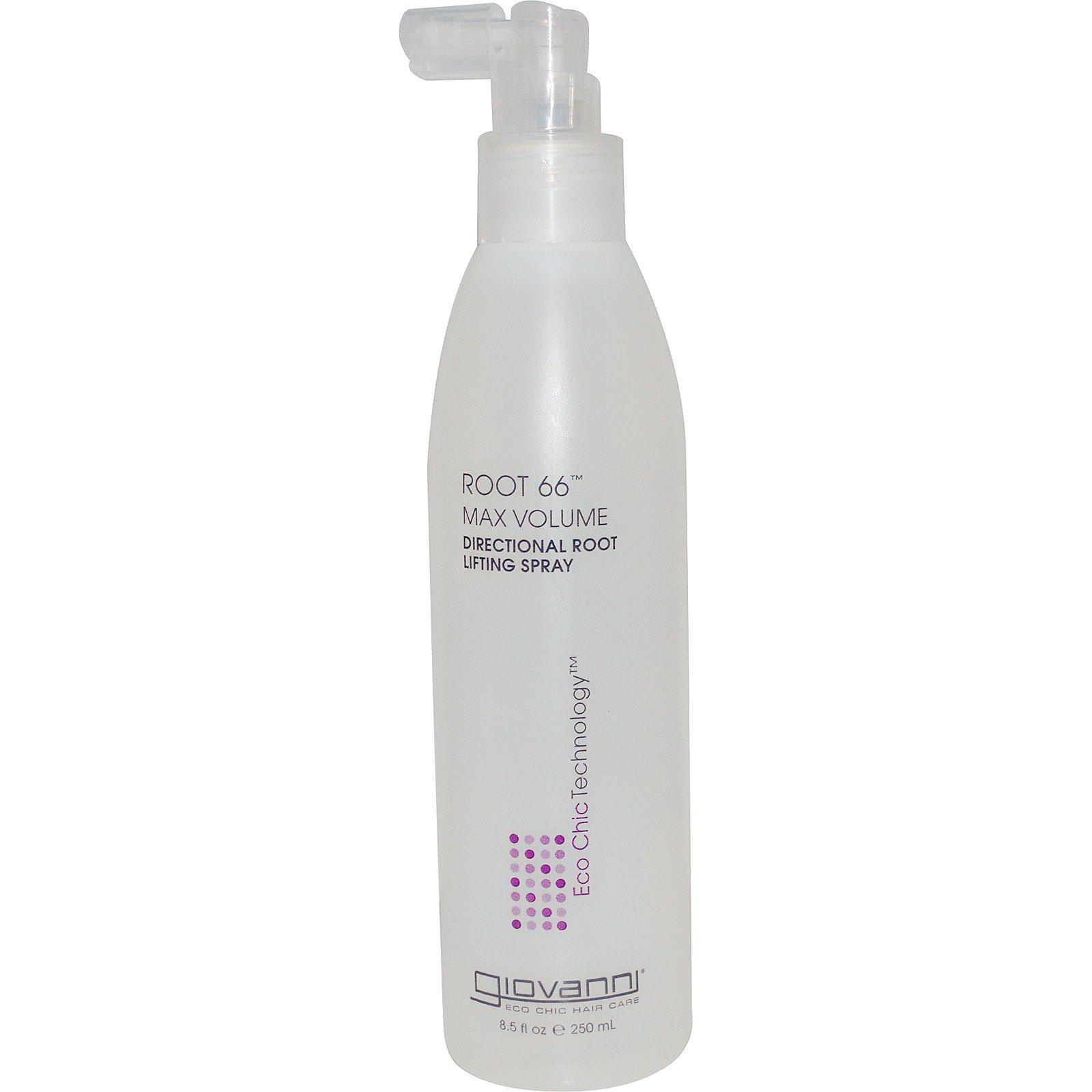 Giovanni, Root 66, масксимальный объем, спрей для увеличения объема волос у корней, 8.5 жидких унций (250 мл)