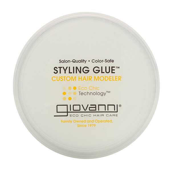 Giovanni, Styling Glue, Custom Hair Modeler, 2 oz (56 g)