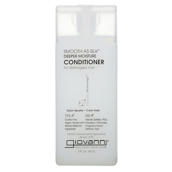 Smooth As Silk, Deep Moisture Conditioner, 2 fl oz (60 ml)