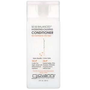 Giovanni, 50:50 Balanced Hydrating-Calming Conditioner, 2 fl oz (60 ml)