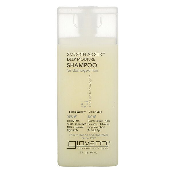 Smooth As Silk, Deep Moisture, Shampoo, 2 fl oz (60 ml)