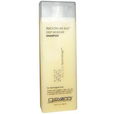 Купить Smooth As Silk, шампунь для глубокого увлажнения волос, 250мл
