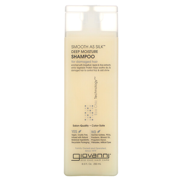 Smooth As Silk, Shampooing hydratant en profondeur, 250 ml