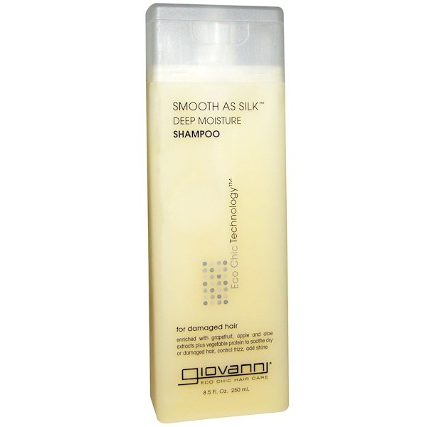 Giovanni, Smooth As Silk, Deep Moisture Shampoo, 8.5 fl oz (250 ml)