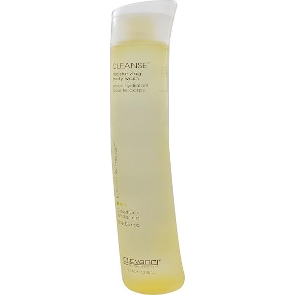 Giovanni, Cleanse, Moisturizing Body Wash, Cassifluer White Tea, 10.5 fl oz (310 ml) (Discontinued Item)
