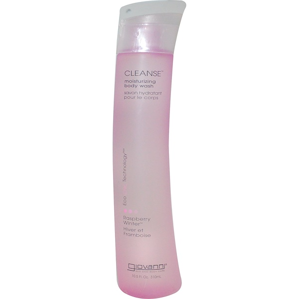 Giovanni, Cleanse, Moisturizing Body Wash, Raspberry Winter, 10.5 fl oz (310 ml) (Discontinued Item)