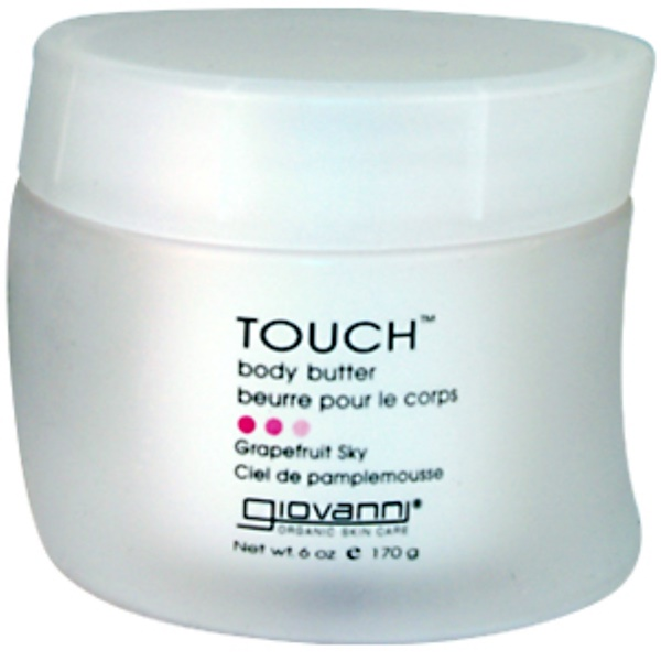 Giovanni, Touch, Body Butter, Grapefruit Sky, 6 oz (170 g) (Discontinued Item)