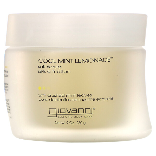 Salt Scrub, Cool Mint Lemonade, 9 oz (260 g)
