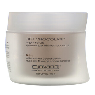 Giovanni, Hot Chocolate, Sugar Scrub with Crushed Cocoa Beans, 9 oz (260 g)