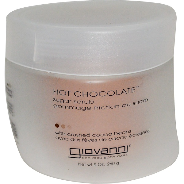Giovanni, Azúcar Exfoliante Chocolate Caliente, 9 oz (260 g)