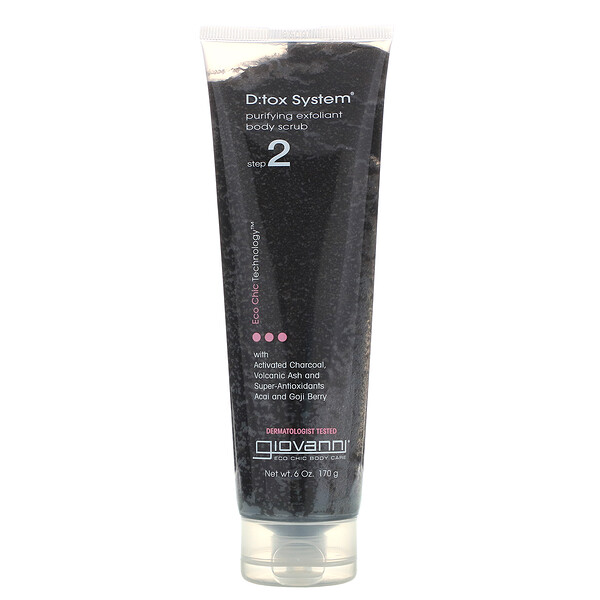 D:tox System, Purifying Exfoliant Body Scrub, Step 2, 6 oz (170 g)