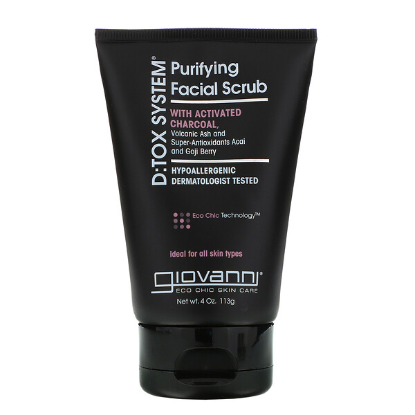D:Tox System, Purifying Facial Scrub, 4 oz (113 g)