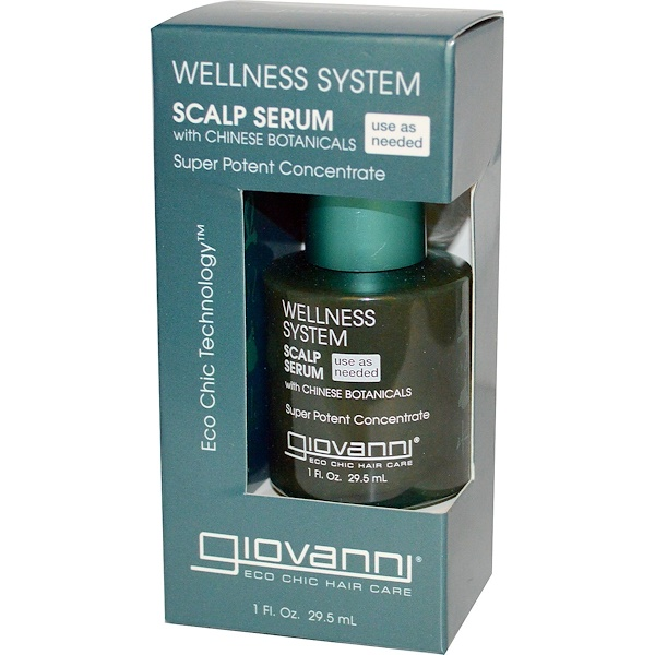 Giovanni, Wellness System Scalp Serum, 1 oz. (Discontinued Item)