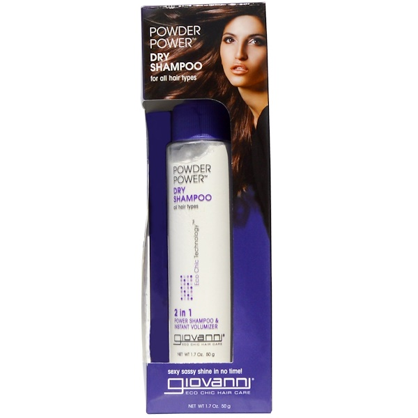 Giovanni, Eco Chic Hair Care, Powder Power Dry Shampoo, 1.7 oz (50 g)