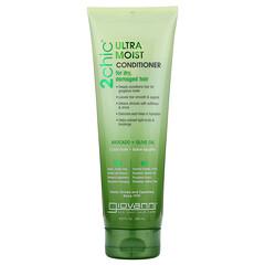 Giovanni, 2Chic 超保濕護髮素,適用於乾枯受損髮質,含鱷梨果 + 橄欖油,8.5 液量盎司(250 毫升)