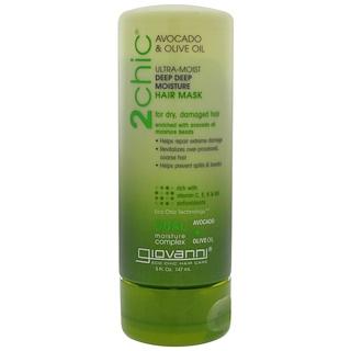 Giovanni, 2chic, Ultra-Moist, Deep Deep Moisture Hair Mask, Avocado & Olive Oil, 5 fl oz (147 ml)
