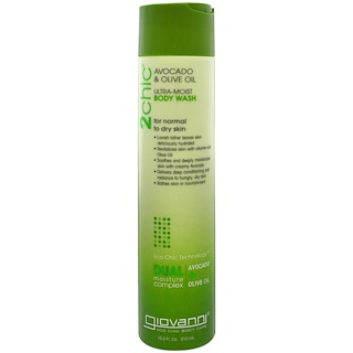 Giovanni, 2chic, Ultra-Moist, Body Wash, Avocado & Olive Oil, 10.5 fl oz (310 ml)