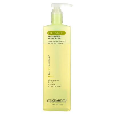 Купить Giovanni Cleanse, Moisturizing Body Wash, Cucumber Song, 24 fl oz (710 ml)