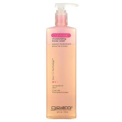 Купить Giovanni Cleanse, Moisturizing Body Wash, Grapefruit Sky, 24 fl oz (710 ml)