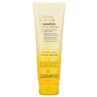 Giovanni, 2chic, Ultra-Revive Shampoo, For Dry, Unruly Hair, Pineapple + Ginger, 8.5 fl oz (250 ml)