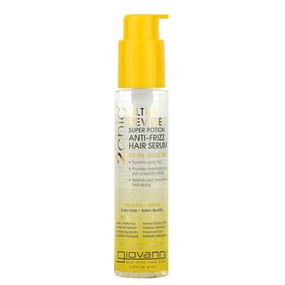 Giovanni, 2chic, Ultra-Revive Super Potion Anti-Frizz Hair Serum, Pineapple + Ginger, 2.75 fl oz (81 ml)