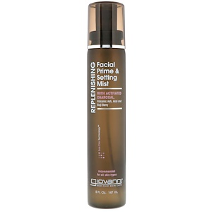Джиованни, Replenishing, Facial Prime & Setting Mist, 5 fl oz (147 ml) отзывы