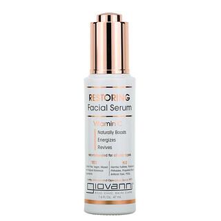 Giovanni, Restoring Facial Serum With Vitamin C, 1.6 fl oz (47 ml)