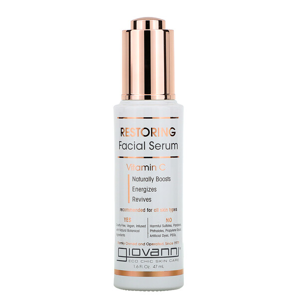 Restoring Facial Serum With Vitamin C, 1.6 fl oz (47 ml)