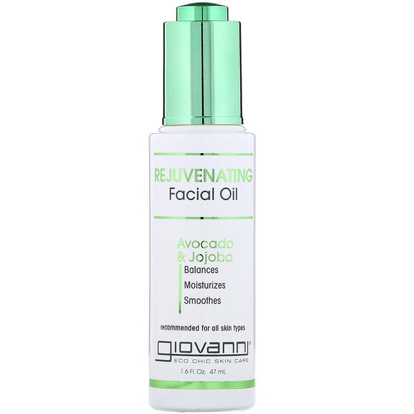 Giovanni, Rejuvenating Facial Oil, Avocado & Jojoba, 1.6 fl oz (47 ml)