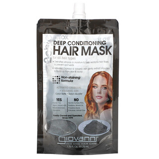 Giovanni, 2chic Detox, Deep Conditioning Hair Mask, For All Hair Types, 1 Packet, 1.75 fl oz (51.75 ml)