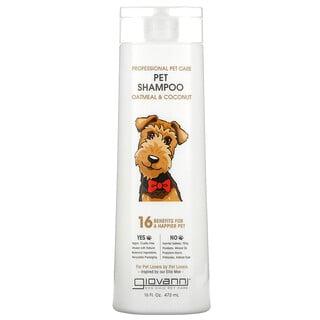 Giovanni, Professional Pet Care, Pet Shampoo, Oatmeal & Coconut , 16 fl oz (473 ml)