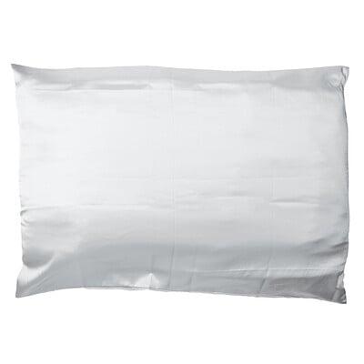 Giovanni Satin Pillowcase, Elegant Silver, 1 Pillowcase