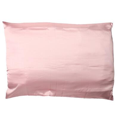 Giovanni Satin Pillowcase, Elegant Blush, 1 Pillowcase