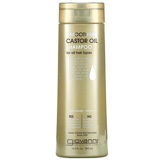 Giovanni, Smoothing Castor Oil Shampoo, For All Hair Types, 13.5 fl oz (399 ml)