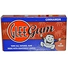 Glee Gum, All Natural Chewing Gum, Cinnamon, 16 Pieces (Discontinued Item)