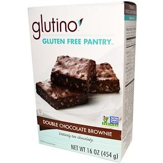 Glutino, Double Chocolate Brownie, 16 oz (454 g)
