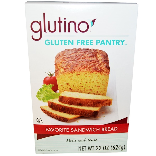 Gluten-Free Pantry, Favorite Sandwich Bread Mix, 22 oz (624 g) (Discontinued Item)