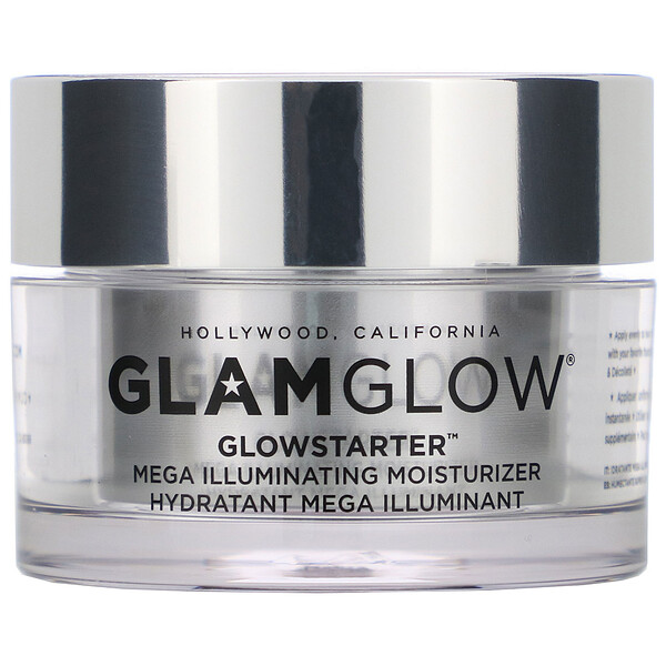 GLAMGLOW, GlowStarter, Mega Illuminating Moisturizer, Sun Glow, 1.7 oz (50 ml)