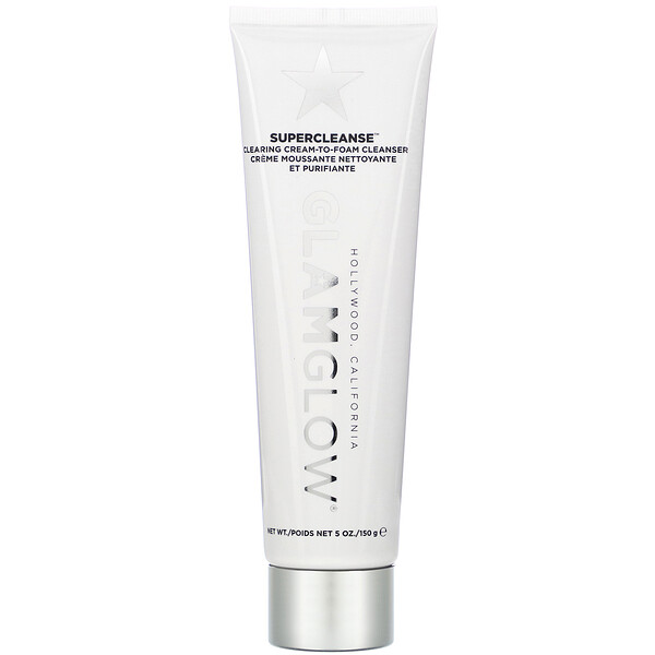 SuperCleanse, Clearing Cream-To-Foam Cleanser, 5 oz (150 g)