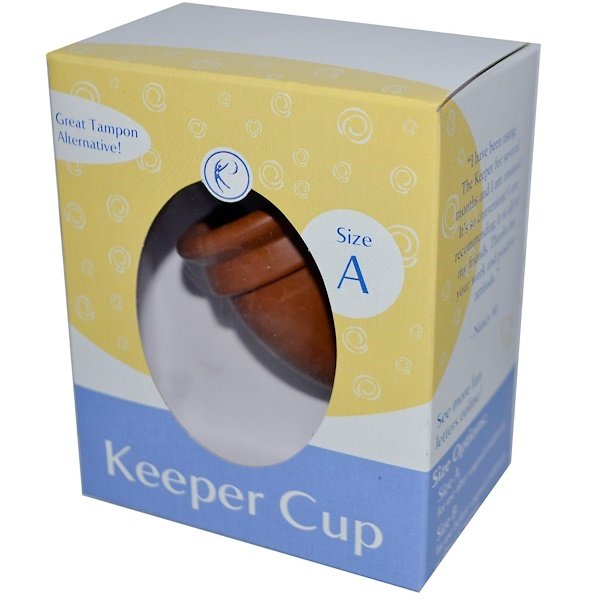 GladRags, Keeper Cup, Natural Rubber Latex, Size A (Discontinued Item)