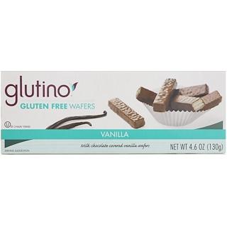 Glutino, Gluten Free Wafers, Vanilla, 4.6 oz (130 g)
