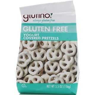 Glutino, Gluten Free Yogurt Covered Pretzels, 5.5 oz (156 g)