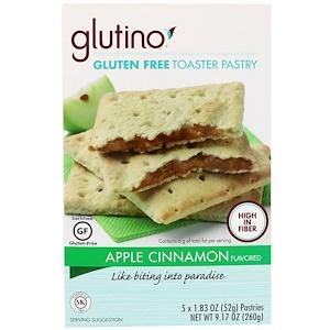 Глутино, Gluten Free Toaster Pastry, Apple Cinnamon, 5 Pastries, 1.83 oz (52 g) Each отзывы